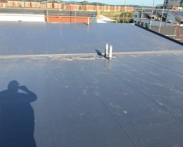 Flat Roofing on high building